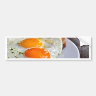 french dish croque-madame bumper sticker