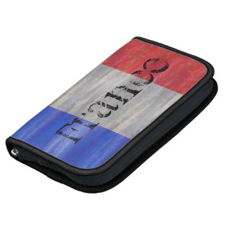 French Distressed Flag - France Planner