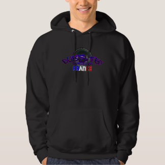 French DnB drum n Bass FRENCH DUBSTEP Hoodie