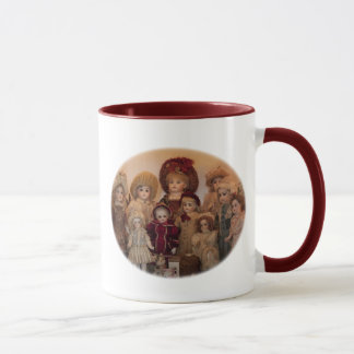 French Dolls and Friends Mug