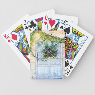 French Doors Bicycle Playing Cards