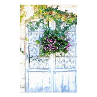 French Doors Stationery