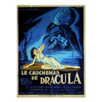 French Dracula Poster