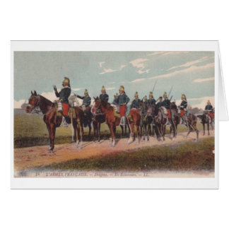 French Dragoons Card