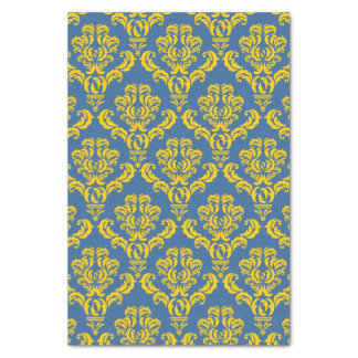French Empire Damask Pattern #10 Tissue Paper