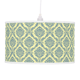 French Empire Damask Pattern #6 Hanging Lamp