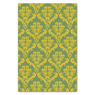 French Empire Damask Pattern #8 Tissue Paper