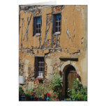 French Facade Stationery Note Card