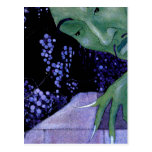 French Fairy Tale Art Painting Postcard