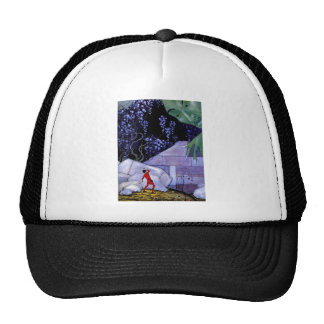 French Fairy Tale Art Painting Trucker Hat