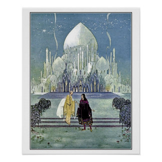 French fairy tales: Princess and Prince Charming Poster