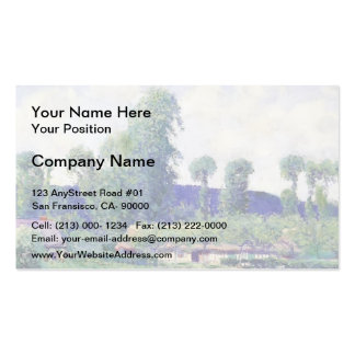 French Farm by Guy Rose Business Card Template