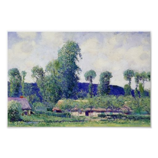 French Farm by Guy Rose Poster