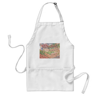 French Farmers Market Adult Apron