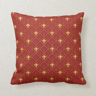 French fashion throw pillow