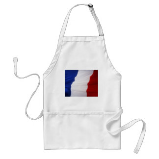 French Flag Adult Apron