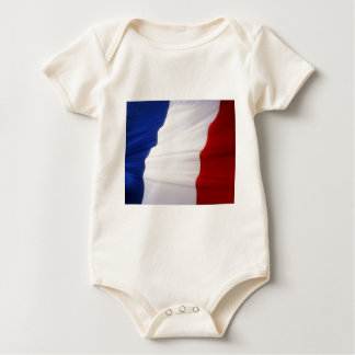 French Flag Baby Creeper