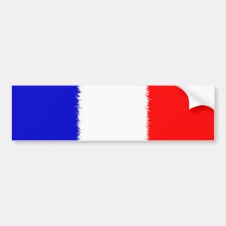 French Flag Bumper Sticker