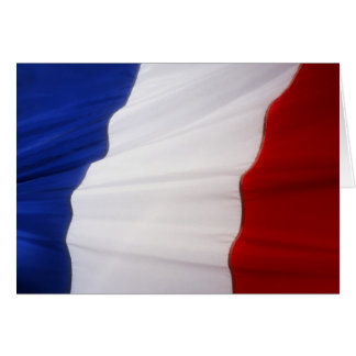 French Flag Card