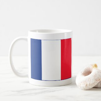 French Flag Coffee Mug