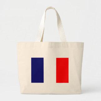 French Flag Design - OUI ! Jumbo Tote Bag