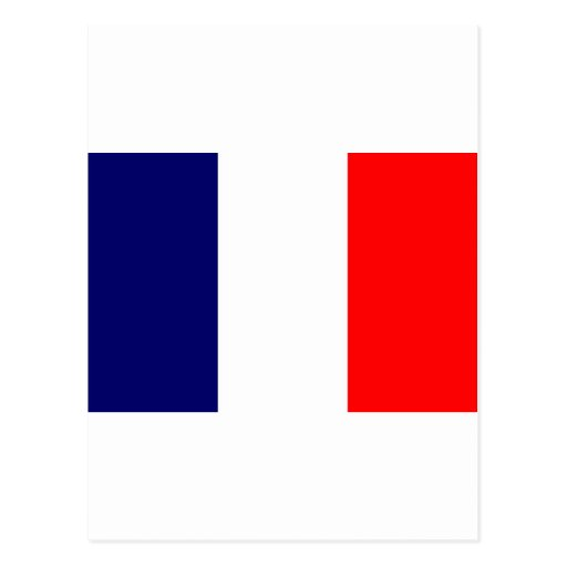 French Flag Design - OUI ! Post Cards