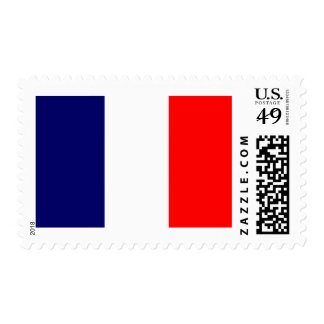 French Flag Design - OUI ! Postage