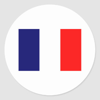 French Flag Design - OUI ! Sticker