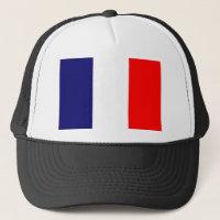 French Flag Design - OUI ! Trucker Hat