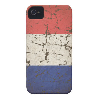 French Flag Distressed iPhone 4 Case-Mate Cases