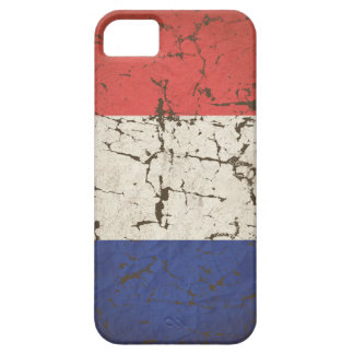 French Flag Distressed iPhone SE/5/5s Case