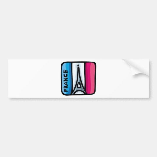 French Flag - France Bumper Sticker