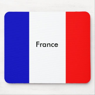 french flag,                      France Mouse Pad