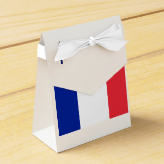 French Flag French Theme Party Favors Box