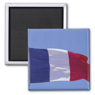 French flag fridge magnet