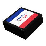 French flag & girl monogram gift box