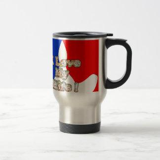 French Flag Hakuna Matata I love My Wife image.png Travel Mug