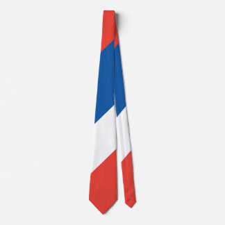French Flag Le Tricolore 14 Juillet Neck Tie