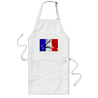 French Flag Long Apron