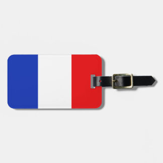 French Flag Luggage Baggage Tag