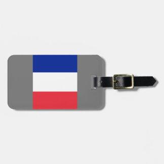 French Flag Luggage Tag