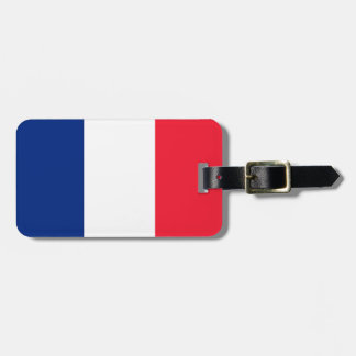 French Flag Luggage Tag