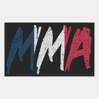 French Flag MMA Sticker