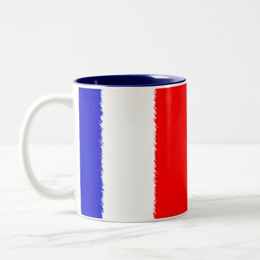 French Flag Coffee Mugs