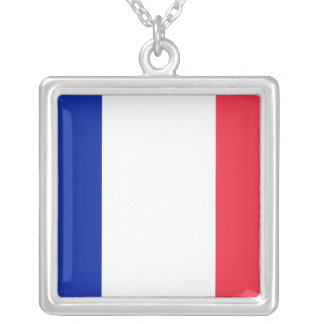French Flag Necklace