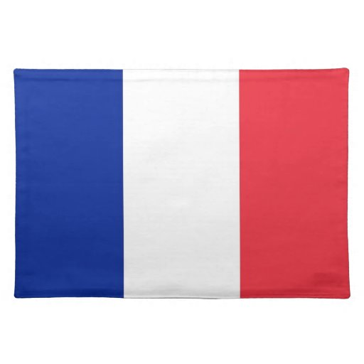 French Flag on MoJo Placemat