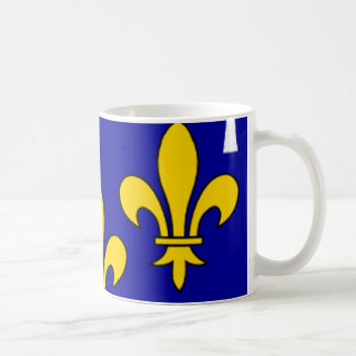 French Flag Orleans Coffee Mugs