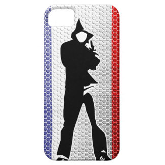 French flag/outlines iPhone SE/5/5s case