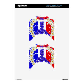 french flag peace sign xbox 360 controller skins