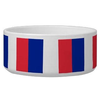 French Flag Pet Bowl